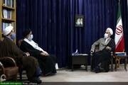 مسئولان حوزه علمیه خوزستان با آیتالله اعرافی دیدار میکنند