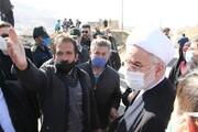تصاویر/ دیدار نماینده ولی فقیه در کردستان با ساکنان محله حاشیهای «نایسر» سنندج