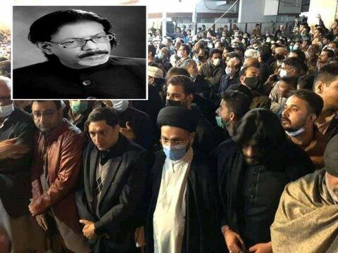 پیکر نوحهسرای معروف پاکستان به خاک سپرده شد