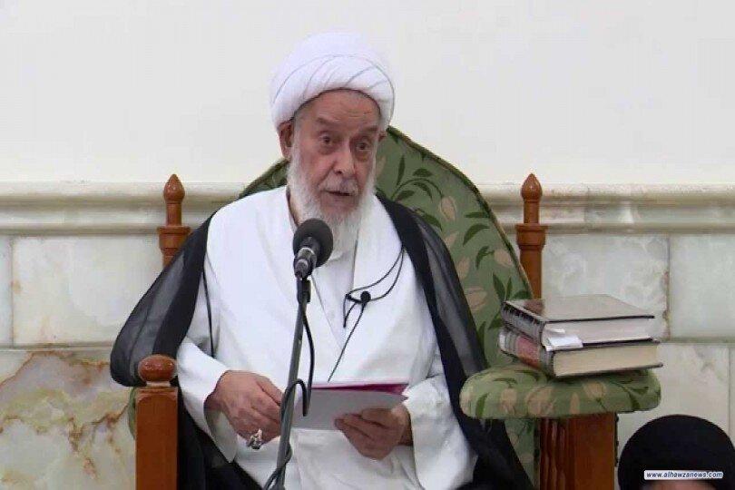 بالفيديو/ الشيخ هادي آل راضي يشيد بدور المرجعية الدينية في الأزمات