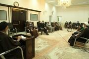 دیدار اعضای شورای زکات کشور با آیتالله سعیدی