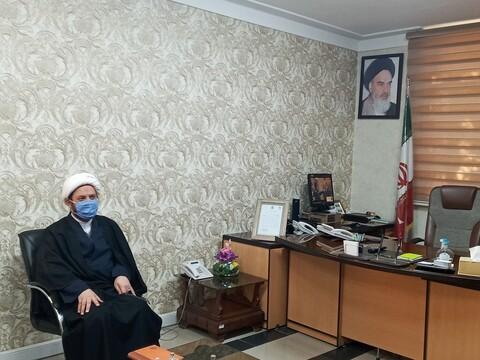 تصاویر/ دیدار مدیر حوزه علمیه خواهران استان سمنان با فرماندهی انتظامی استان