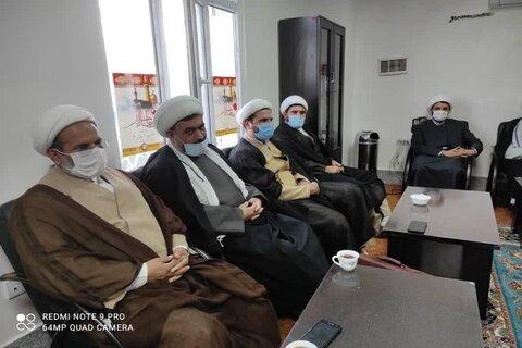 تصاویر/ سفر یکروزه مدیر حوزه علمیه کرمانشاه به شهرستانهای سرپل ذهاب و گیلانغرب