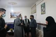 تصاویر/ دیدار امام جمعه قروه با خانواده های شهدای این شهرستان به مناسبت دهه فجر