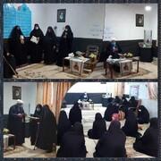 تکریم مادران و همسران شهدا در مدرسه علمیه الزهراء(س) هندیجان