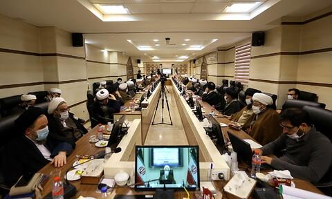 تصاویر/ اجلاسیه اساتید سطوح عالی خارج و مراکز تخصصی وسطح یک حوزه علمیه قم