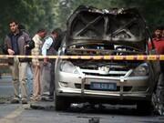 وقوع انفجار در نزدیکی سفارت اسرائیل در هند