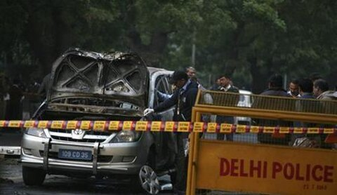 انفجار قرب سفارة الاحتلال الإسرائيلي في الهند