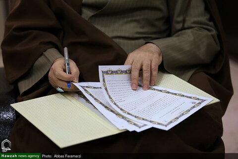 توقيع مذكرة تفاهم للتعاون المشترك بين مركز إدارة الحوزة العلمية في إيران والمجمع العالمي التقريب بين المذاهب الإسلامية بقم المقدسة