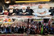 شکارپور میں شہداء نماز جمعہ کی چھٹی برسی؛ سندہ حکومت وارثان شہداء سے کئے گئے معاہدے پر عمل اور کالعدم جماعتوں کے خلاف کارروائی کرے، مقررین