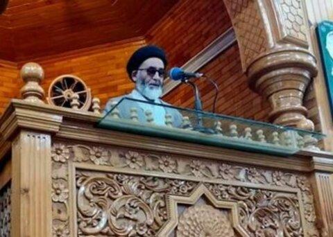سید باقر حسین حسینی نایب امام جمعه اسکردو