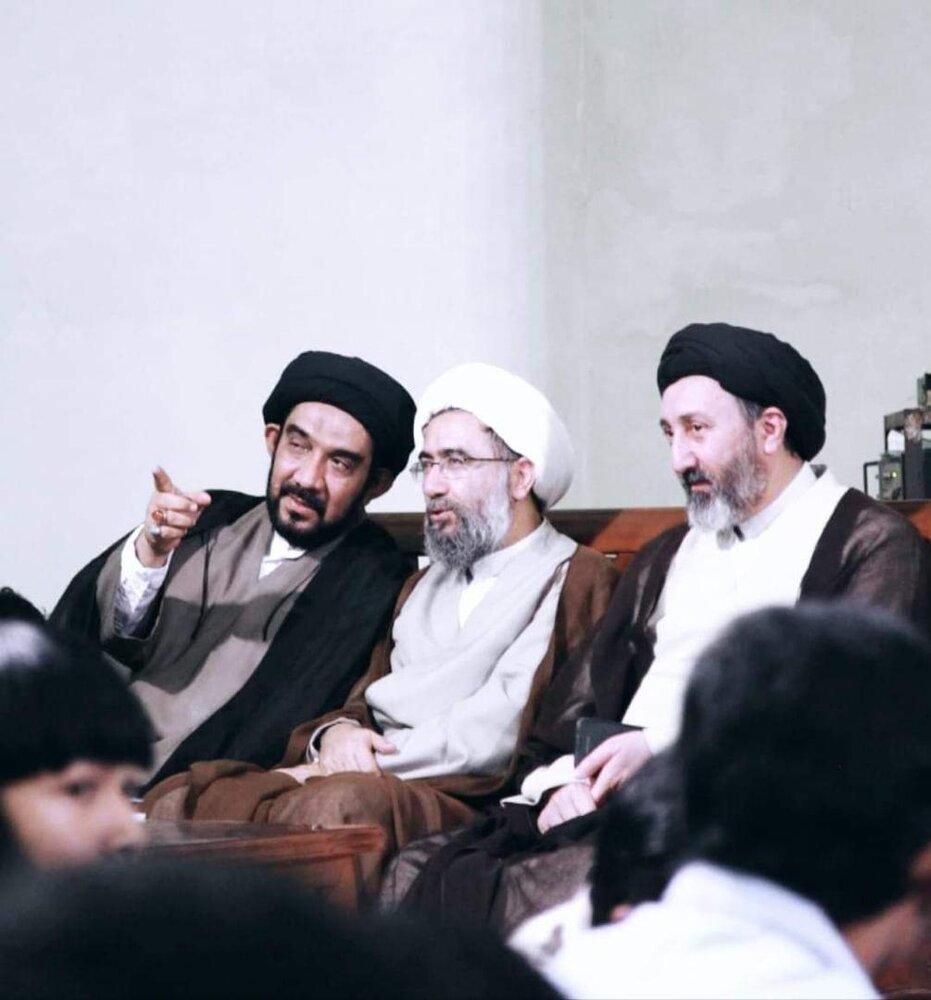 عکسی از مرحوم حجتالاسلام والمسلمین سید جواد مظلومی، معاون امور بینالملل بعثه مقام معظم رهبری