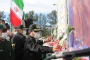 ادای احترم کاشانی ها به شهدای انقلاب