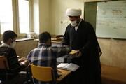 زنگ انقلاب در مدرسه علمیه امیرالمومنین(ع) تبریز نواخته شد
