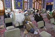 تصاویر/ تجدید بیعت روحانیون یزد با آرمان های امام خمینی(ره)