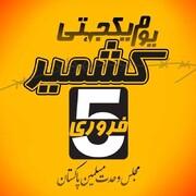 کشمیری مسلمانوں کی حمایت میں ہفتہ یکجہتی کشمیر منانے کا اعلان، مجلس وحدت مسلمین پاکستان