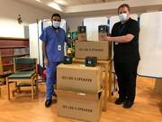 اهدای کیوب قرآن به بیمارستانهای شرق لانگشایر در انگلیس