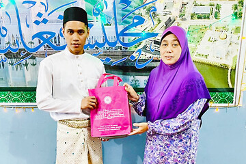 Dusun man embraces Islam