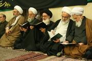 تصاویر آرشیوی از برخی علما و شخصیتهای حوزوی در یک مراسم - بهمن ماه ۱۳۸۵