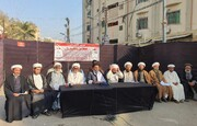 کراچی میں شیعہ علماء کونسل کے رہنماؤں کی پریس کانفرنس؛ 14فروری کو سکھر پریس کلب سے کراچی وزیر اعلیٰ ہائوس تک لانگ مارچ کا اعلان