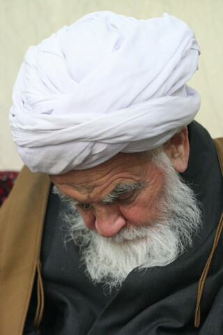 تصاویر آرشیوی از برخی بزرگان و علما در یک مراسم - بهمن ماه ۱۳۸۵