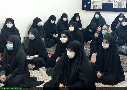 نشست اخلاقی طلاب مدرسه علمیه خواهران شهرستان کارون
