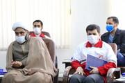 راه اندازی کانون های هلال احمر در مدارس علمیه لرستان