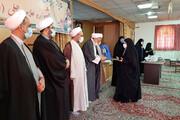 تصاویر/ تقدیر از طلاب و اساتید پژوهشگر مدرسه علمیه الزهرا(س) یزد