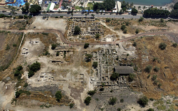 Ancient mosque discovered by Sea of Galilee may indicate good early relations between Christians and Muslims