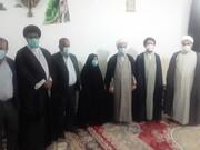 طلاب جهادی باشت از مادران شهدا تجلیل کردند