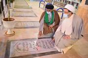 مدیرکل و کارکنان تبلیغات اسلامی بوشهر با آرمانهای شهدا تجدید میثاق کردند