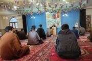 تصاویر/ تجلیل از طلاب جهادی خوی