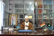 لداخی مسلمانوں کے خلافکسی بھی سازش کو کامیاب نہیں ہونے دیا جائے گا،مولانا ناظر مہدی محمدی
