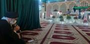 قرائت خطبه «عقد ازدواج» دو زوج جهادگر در معراج شهدای اهواز