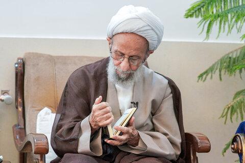 تقرير مصور عن الفقيد آية الله مصباح اليزدي (ره)