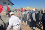 تصاویر/ طبخ و توزیع ۷۲ دیگ غذای نذری در بجنورد به مناسبت میلاد حضرت فاطمه(س)