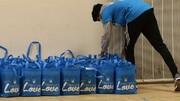 بسیج مسجد شرق لندن برای ارسال بستهها به خانوادههای نیازمند