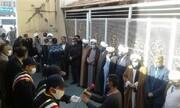 آزادی ۴۲ زندانی نیازمند خراسانی  با اجرای طرح معراج | تشکر آقای زندانبان از حوزویان