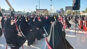 دختران فاطمی و انقلابی نورآباد گردهم آمدند