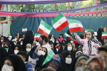 تصاویر/ جشن بانوان انقلاب در گلستان شهدای اصفهان