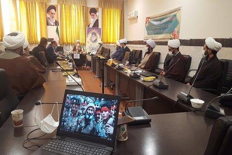 حجت الاسلام صادق ایرانی در جمع رابطین موقوفات مدارس علمیه