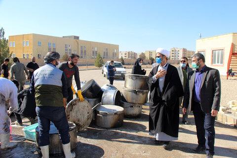 تصاویر/ طبخ و توزیع 72 دیگ غذای نذری در بجنورد به مناسبت میلاد حضرت فاطمه(س)