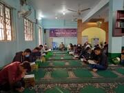 تصاویر/ مراسم ترحیم مرحوم حجت الاسلام والمسلمین مظلومی در مسجد ولی عصر (عج) کُلنا، بنگلادش