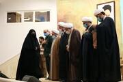 گزارشی از مراسم تکریم و تجلیل از همسران طلاب جهادگر در ایام کرونا