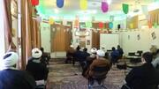 تصاویر / نشست تخصصی تبیین دستاوردهای انقلاب اسلامی در مدرسه علمیه طالبیه