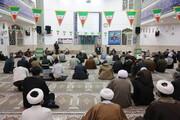 تصاویر/ مراسم ختم حجت الاسلام آقایی در مسجد امام حسن عسکری(ع) پردیسان