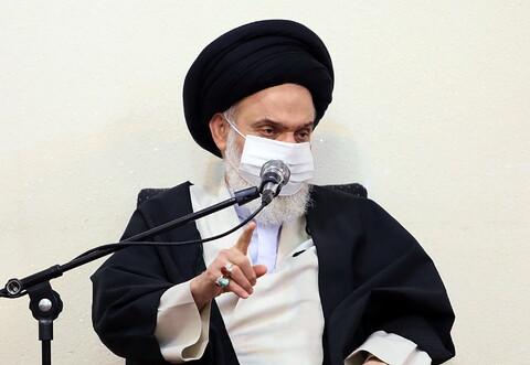 تصاویر/ دیدار ائمه جمعه استان همدان با آیت الله حسینی بوشهری