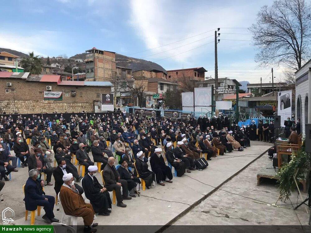 تصاویر/ مراسم بزرگداشت مرحوم آیت الله نظری خادم الشریعه در سوادکوه