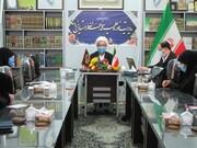 جلسه کمیسیون بودجه صندوقی مدارس علمیه خواهرن استان یزد تشکیل شد