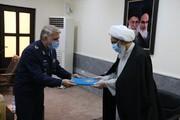 تقدیر فرمانده نیروی هوایی ارتش از امام جمعه بوشهر